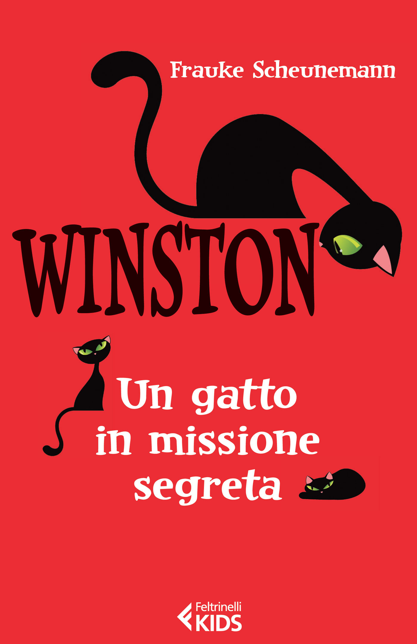 Frauke Scheunemann, Winston. Un gatto in missione segrete, Feltrinelli Kids